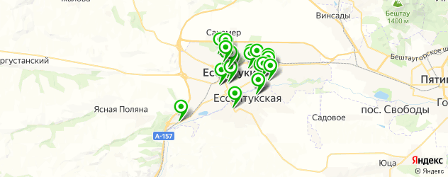 стоматологические клиники на карте Ессентуков
