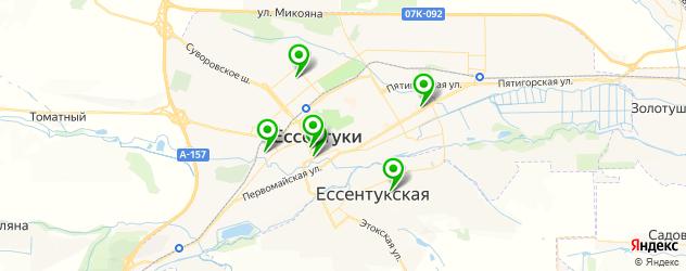 салоны оптики на карте Ессентуков
