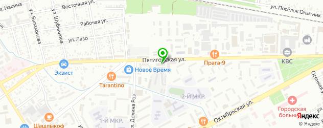 культурные центры на карте Ессентуков