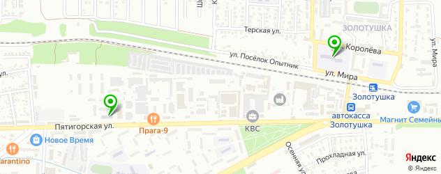 университеты на карте Ессентуков