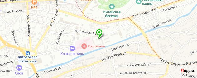ортопедические магазины на карте Горячеводского