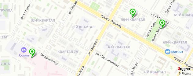 реабилитационные центры на карте Дзержинска