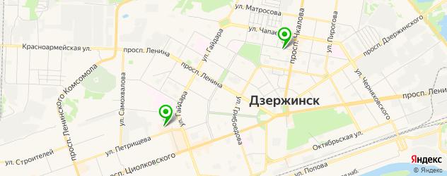 тату салон на карте Дзержинска