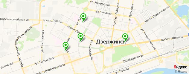 университеты на карте Дзержинска