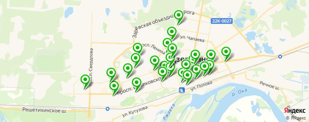 бары на карте Дзержинска