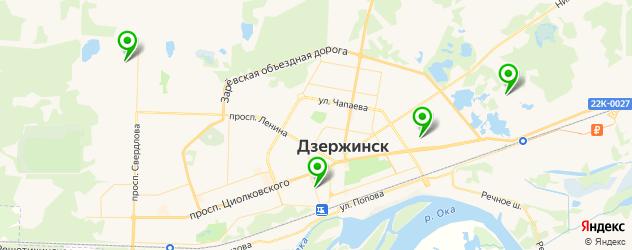 НИИ на карте Дзержинска