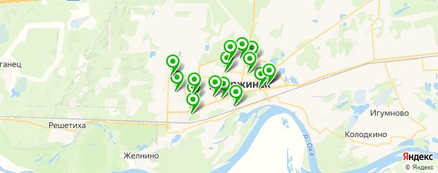 замена автостекол на карте Дзержинска