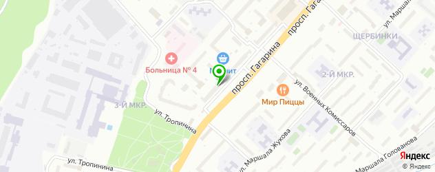 анализ крови на карте улицы Тропинина