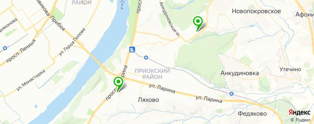 Анализ мочи срочно на карте Приокского района