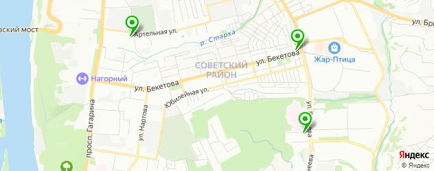 анализ крови на карте Советского района