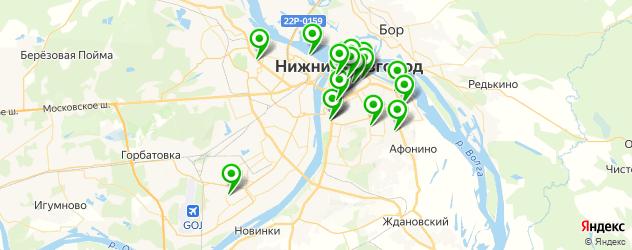 VIP зал на карте Нижнего Новгорода