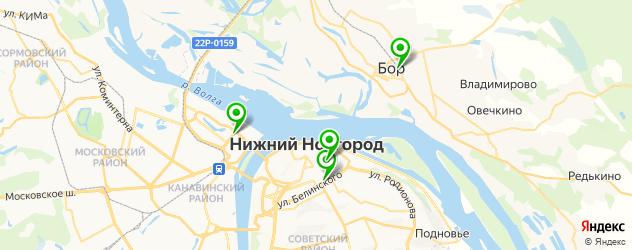 анализ на грибок ногтя на карте Нижнего Новгорода