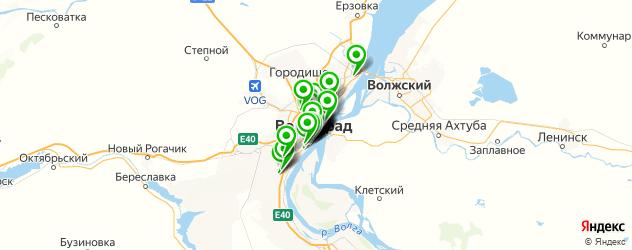 Образование и развитие на карте Волгограда