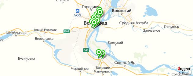 тату салон на карте Волгограда