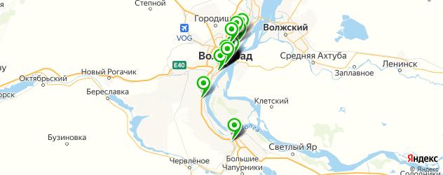 кафе для поминок на карте Волгограда