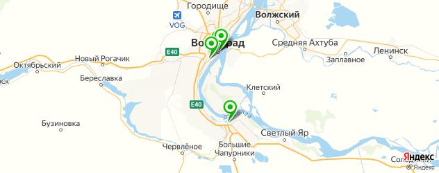 картинные галереи на карте Волгограда