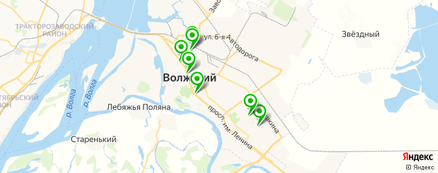 лаборатории анализов на карте Волжского