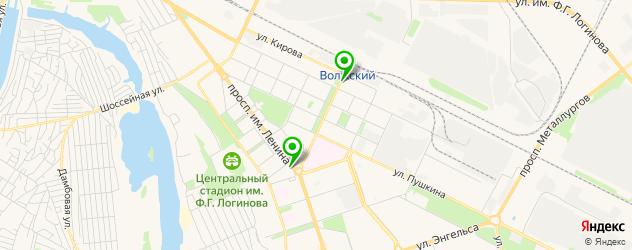 химчистка подушек из пера на карте Волжского