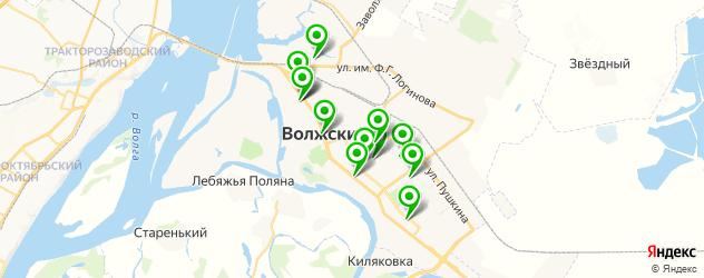 агентства праздников на карте Волжского