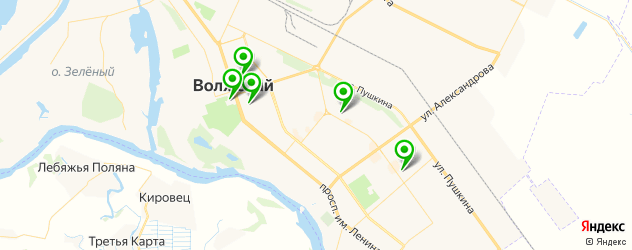 художественные школы на карте Волжского