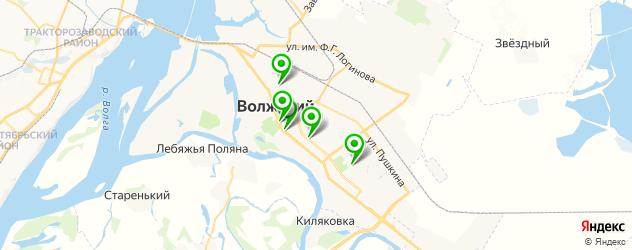 ортопедические магазины на карте Волжского