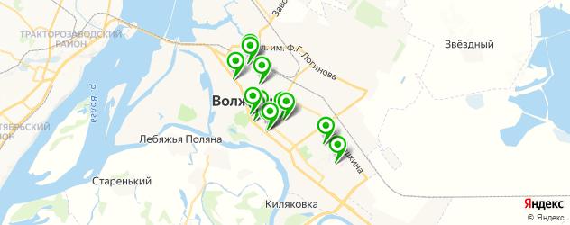 медицинские центры на карте Волжского