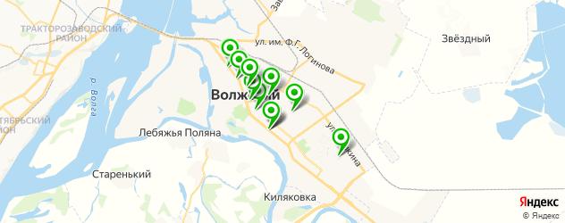меховые ателье на карте Волжского