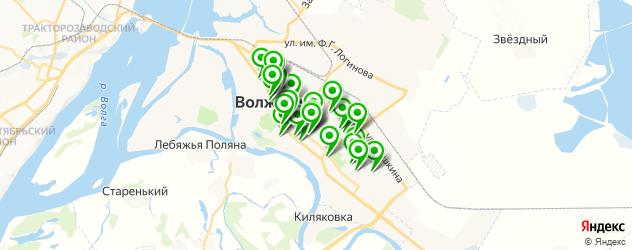Здоровье на карте Волжского