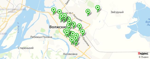 магазины запчастей на карте Волжского