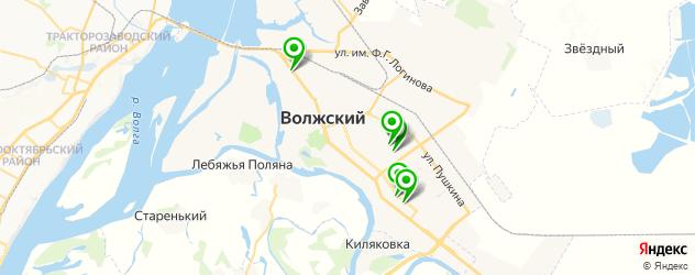 фотостудии на карте Волжского