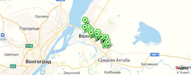 пицца на карте Волжского