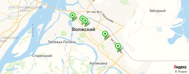 итальянские рестораны на карте Волжского