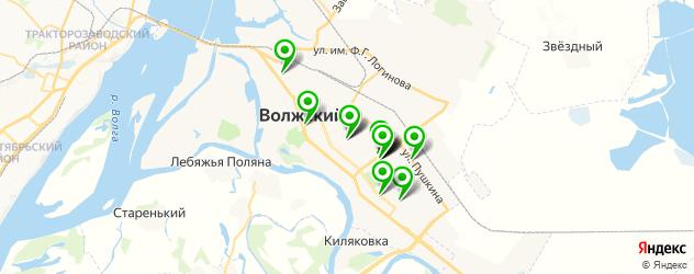 пиццерии на карте Волжского