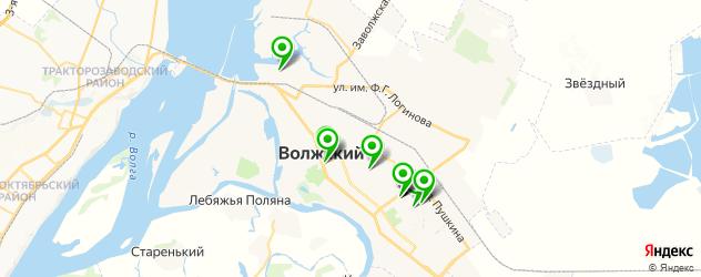 Доставка роллов на карте Волжского