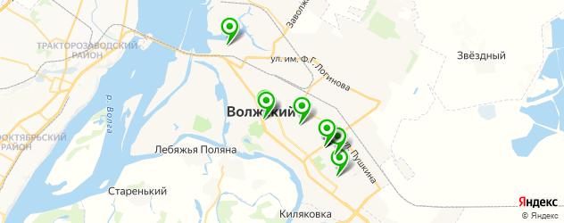 Доставка суши на карте Волжского
