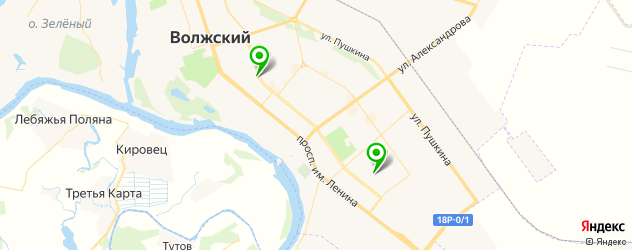 экскурсии на карте Волжского