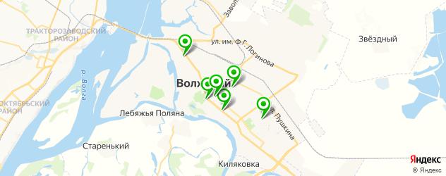 школы танцев на карте Волжского