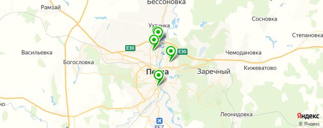 пекарни на карте Пензы