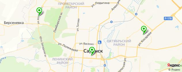 реабилитационные центры на карте Саранска
