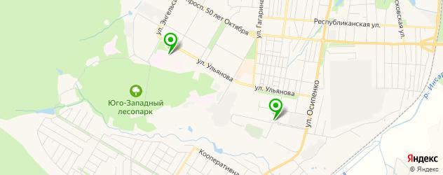 прачечные на карте Саранска