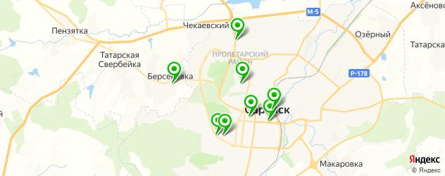 караоке на карте Саранска