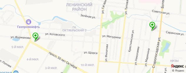 антикафе на карте Саранска