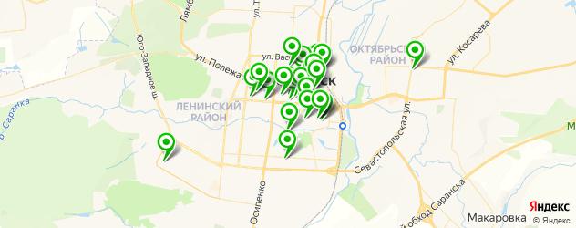 бесплатный Wi-Fi на карте Саранска