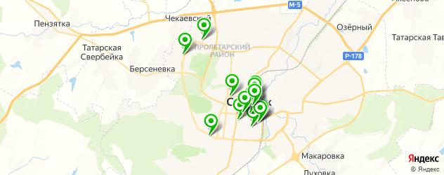 агентства праздников на карте Саранска