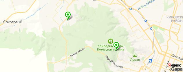санатории на карте Саратова