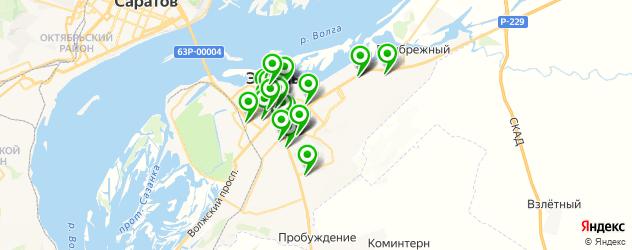 Бытовые услуги на карте Энгельса