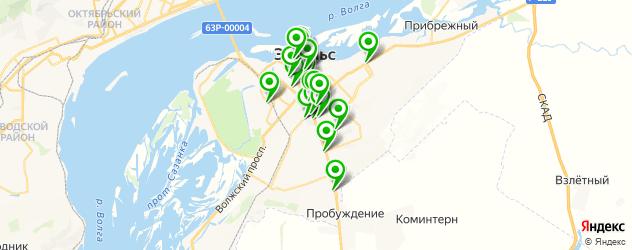 банкоматы с функцией приема наличных на карте Энгельса