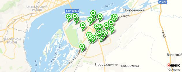 детские сады на карте Энгельса
