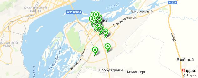 типографии на карте Энгельса