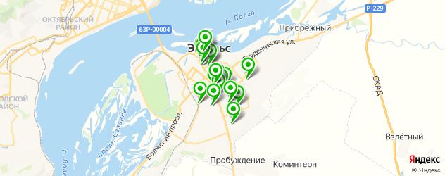 компьютерные помощи на карте Энгельса
